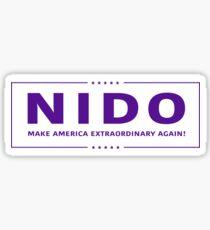 NIDO High Point University Sticker