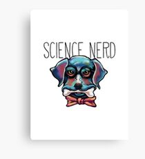 Science Nerd Canvas Print