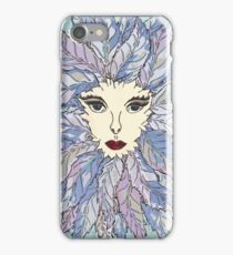 Green Lady - Winter iPhone Case/Skin
