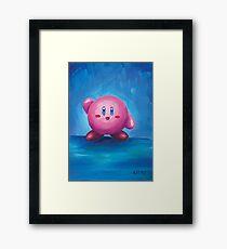 Kirby Kirby Kirby! Framed Print