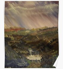 Rainstorm - God refreshing and cleaning the earth Poster
