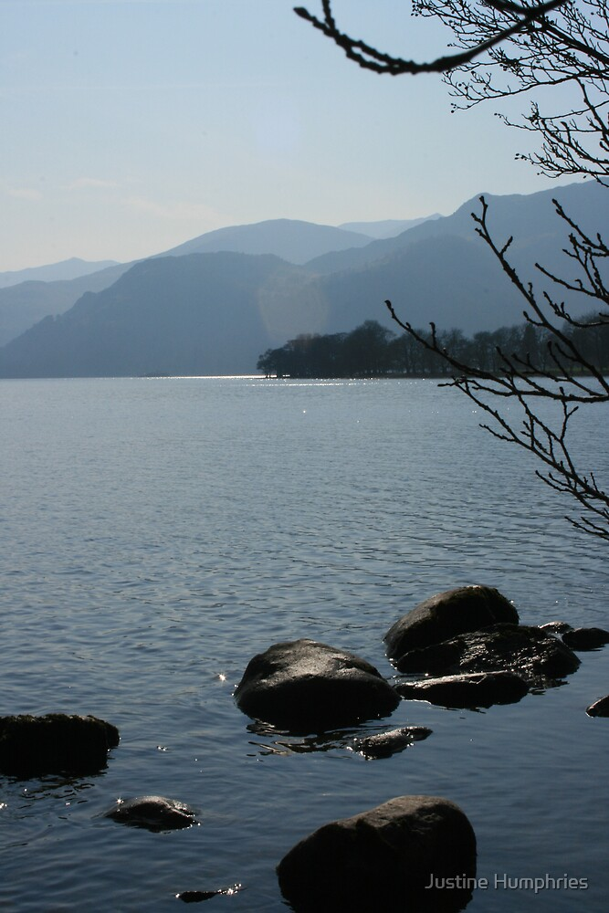 Ullswater II - Cumbria, England by Justine Humphries