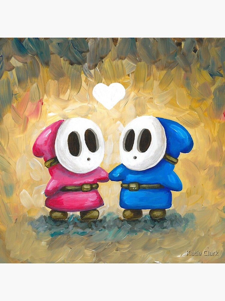 Shy Guys in Love! by KatieClarkArt