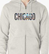 Chicago Zipped Hoodie