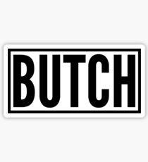 Butch Sticker