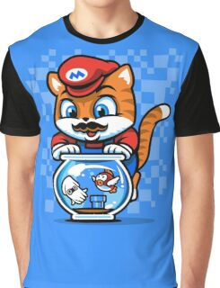 It's A ME-OW, Mario! Graphic T-Shirt