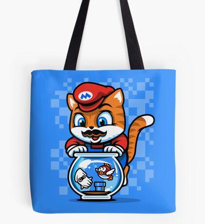 It's A ME-OW, Mario! Tote Bag