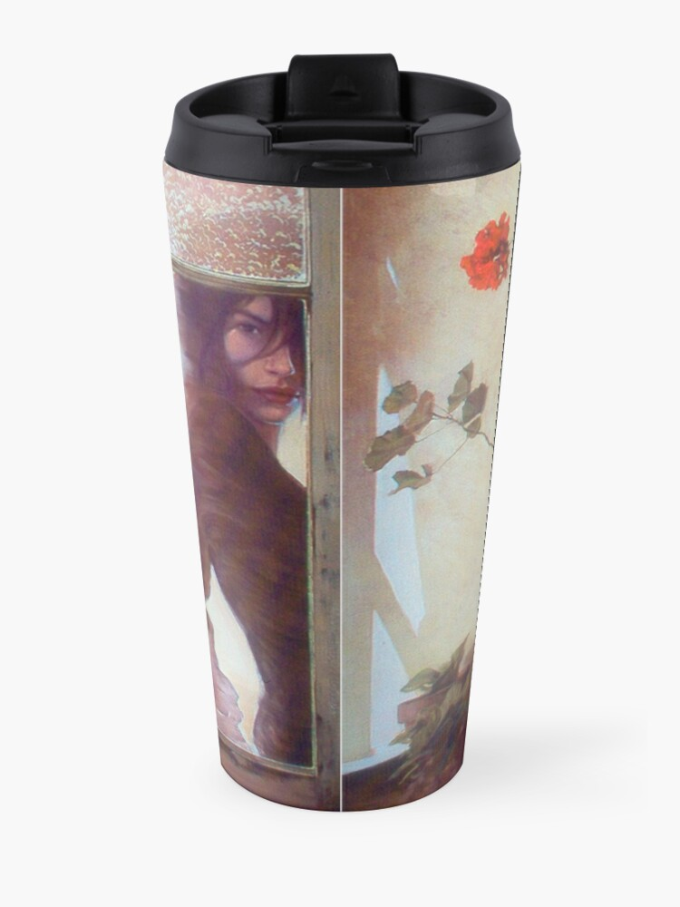 Alternate view of Geranium Travel Mug