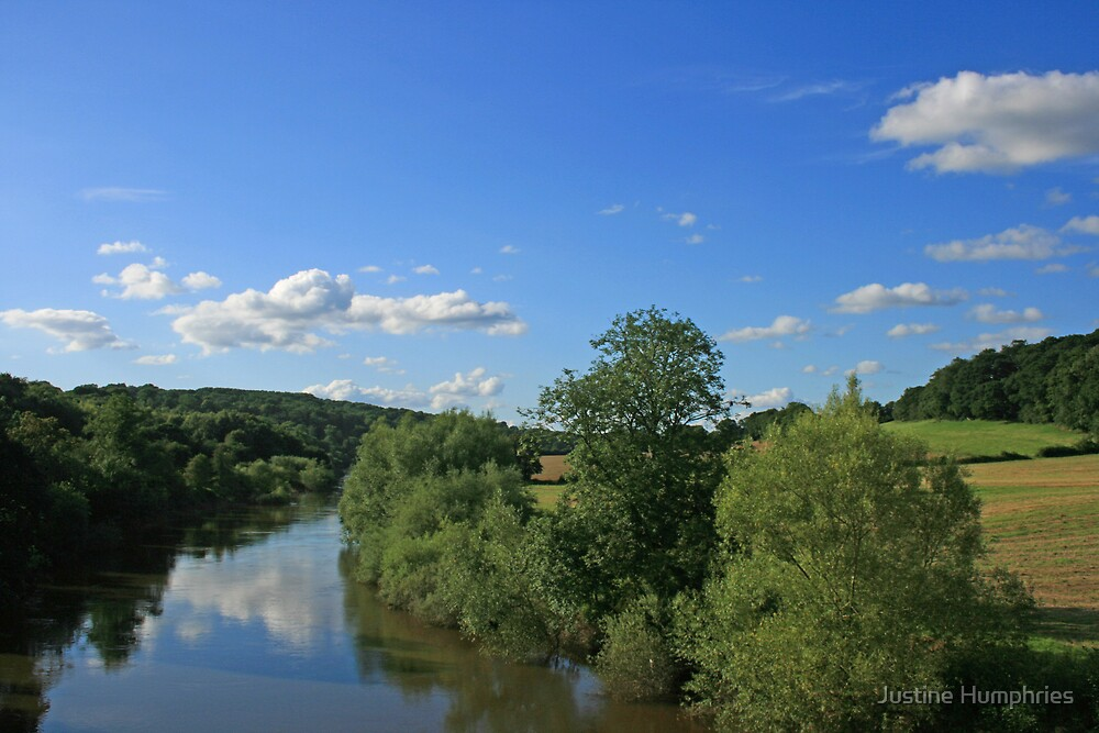 River Severn - Highley, Shropshire, UK by Justine Humphries