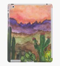 Dessert sunset iPad Case/Skin