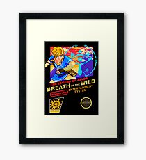 Breath of the Wild NES Framed Print