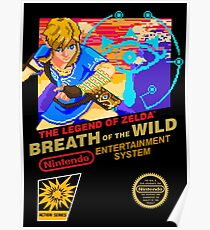 Breath of the Wild NES Poster