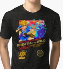 Breath of the Wild NES Tri-blend T-Shirt