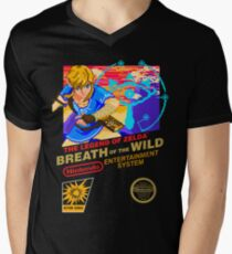 Breath of the Wild NES Men's V-Neck T-Shirt