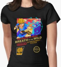 Breath of the Wild NES Womens Fitted T-Shirt