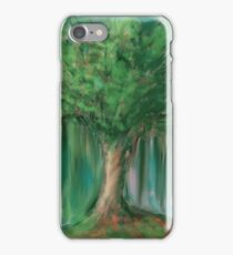 Fantasy tree iPhone Case/Skin