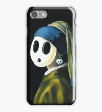Shyguy with a Turnip Earring iPhone Case/Skin