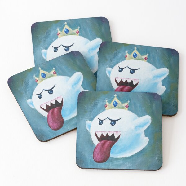 King Boo Coasters (Set of 4)