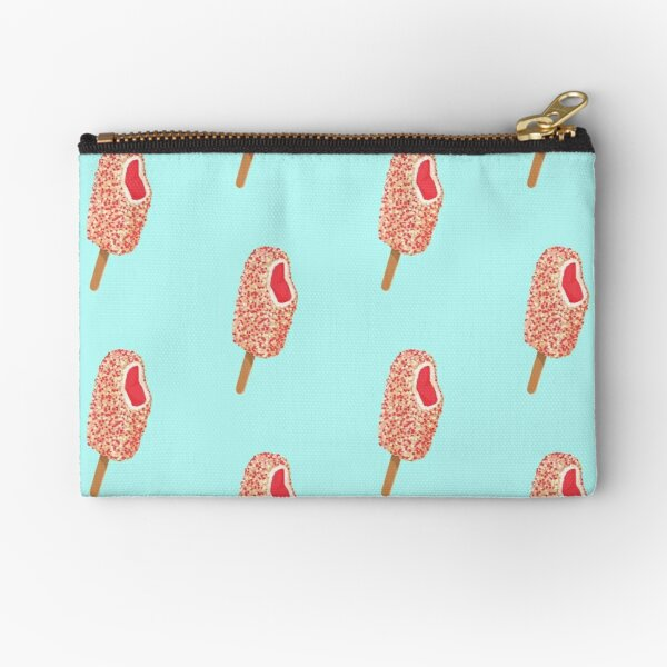 Strawberry Crunch Bar Zipper Pouch