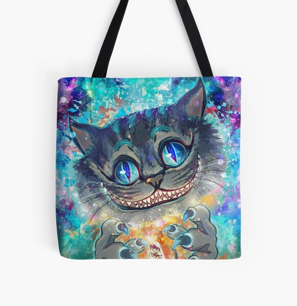 Chesire2 All Over Print Tote Bag