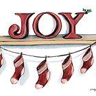 Christmas Joy by Nicky Johnston