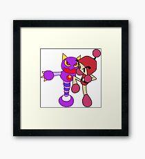 Red Bomberman - Super Bomberman R Framed Print