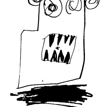 Monsters By Gusten #3 BLACK by oskardahlbom