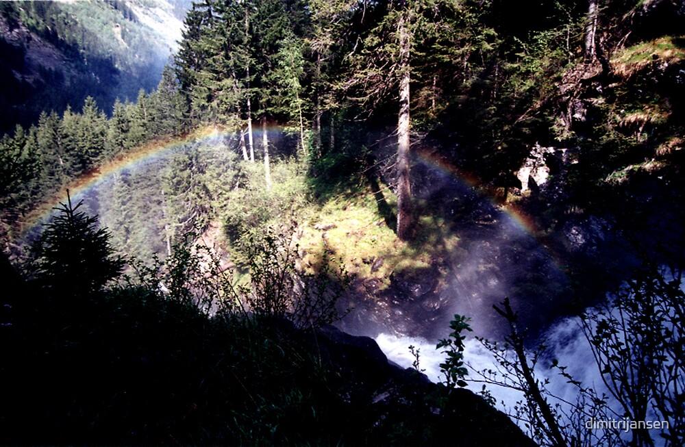 Austrian Mountain Fall by dimitrijansen