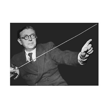 Sartre Fencing by neememes