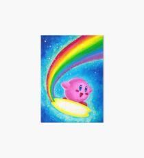 Kirby Rainbow Art Board