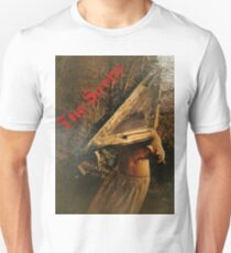 Pyramid head (in the woods) Unisex T-Shirt