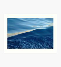 Agean sea Art Print