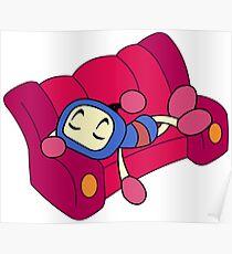Blue Bomberman - Super Bomberman R  Poster