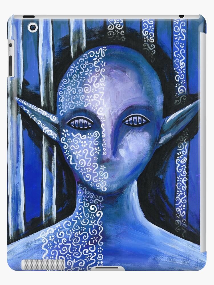 Blue Lace Elf by Katie Clark