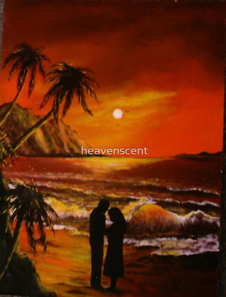 Romantic Hawaiian Sunset by heavenscent