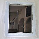 Inside Cottage Window by Fara