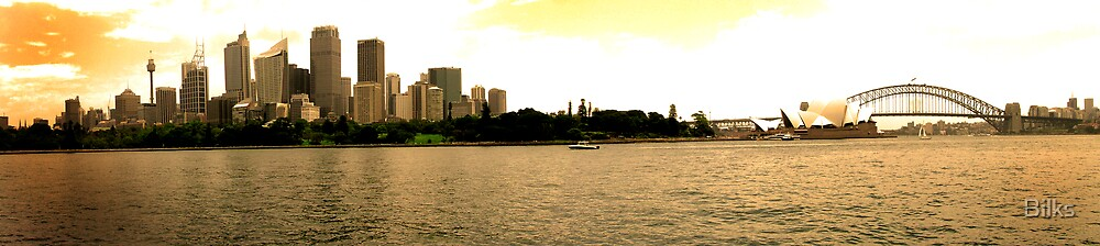 Golden Sydney by Bilks