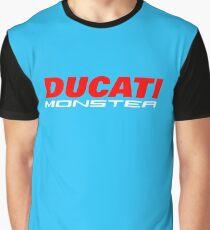 DUCATI MONSTER Graphic T-Shirt