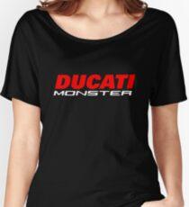 DUCATI MONSTER Women's Relaxed Fit T-Shirt