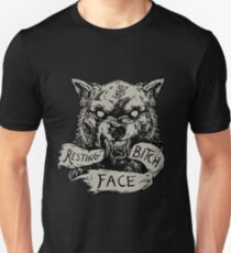 Resting Bitch Face Unisex T-Shirt