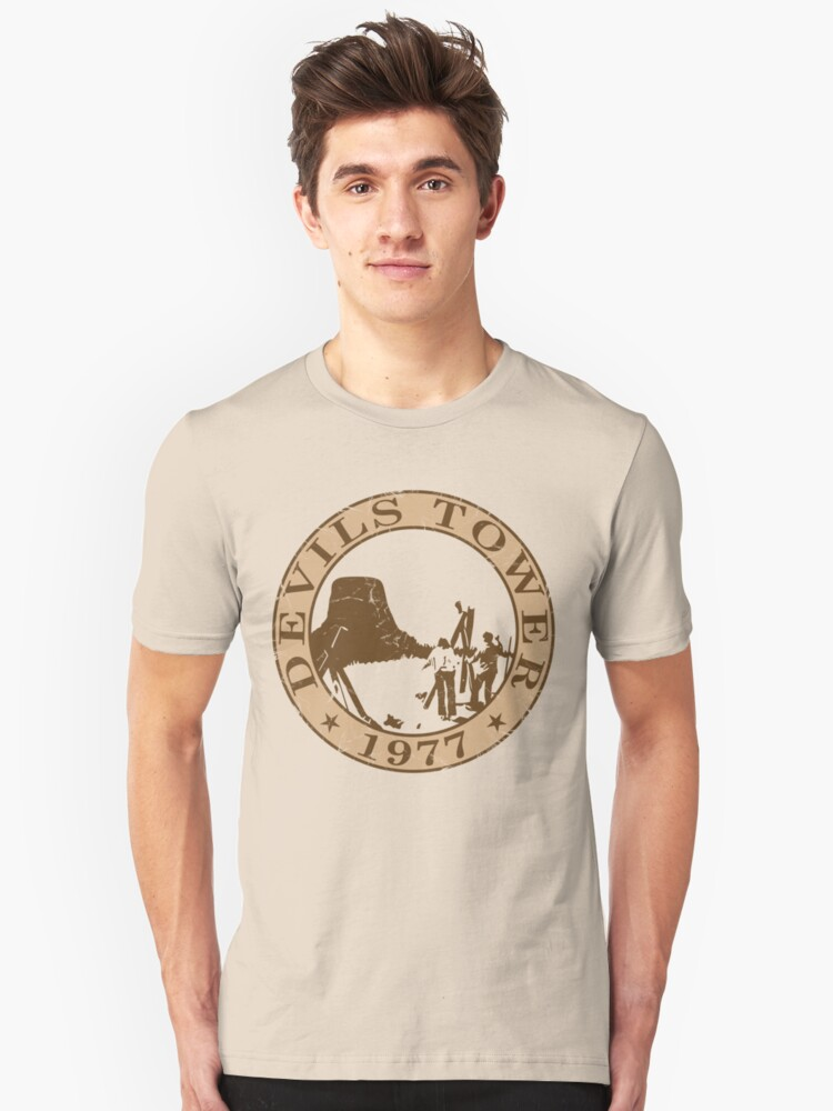 Devils Tower, 1977 Unisex T-Shirt Front