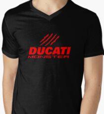 DUCATI MONSTER Men's V-Neck T-Shirt