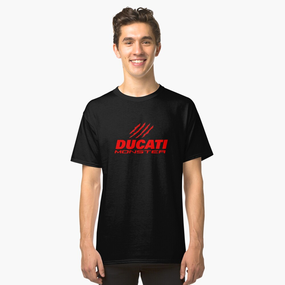 DUCATI MONSTER Classic T-Shirt Front