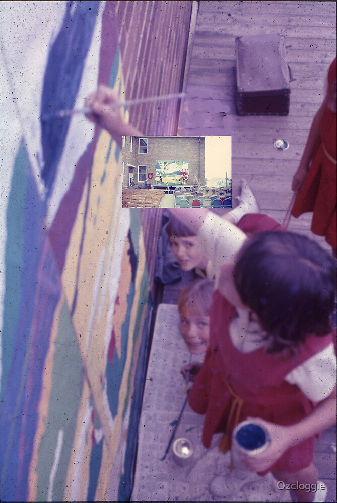 Artists, at work. 1966 by Ozcloggie