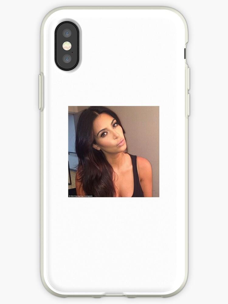 new style c99f7 62f73 'Kim Kardashian Selfie' iPhone Case by Bad Bitch