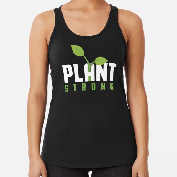 Plant Strong Racerback Tank Top