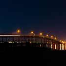 The AB Bridge at Night by John Bacon