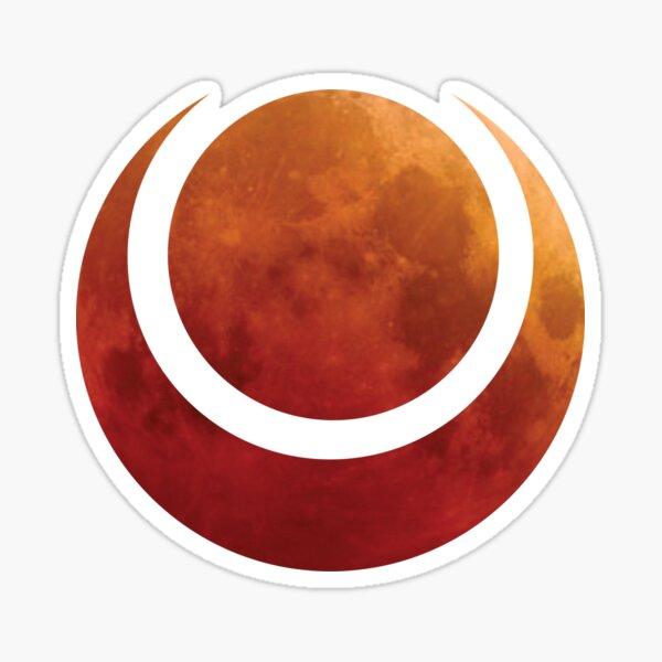 Blood Moon Symbol Sticker
