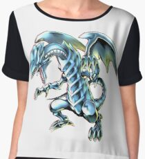 Blue Eyes White Dragon Yu-gi-oh Chiffon Top