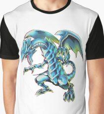 Blue Eyes White Dragon Yu-gi-oh Graphic T-Shirt